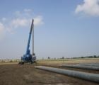 Robot DBY2H800 tấn ép cọc ly tâm PHCA D500mm – Nhà máy Sam Sung – Thái Nguyên