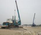 Robot DTZ 320B và ZYJ 240B ép cọc 250x250mm – Nhà máy MC Nex Ninh Bình