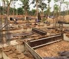 Thi công xây dựng – Gia cố nền móng nhà máy xử lý nước thải tập trung – KCN Thuận Thành – Bắc Ninh