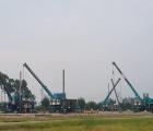 VICIN: Thi công ép cọc D400mm và D350mm nhà máy Sumiden – Khu CN Đại An- Hải Dương
